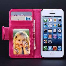 5S SE 4S Vintage Leather Case For Apple iPhone 5 5S SE 4 4S Wallet Flip Capa Cover Fundas Women Card Slot Bag Shell Accessories