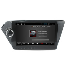 For Quad core in dash kia k2 capacitive touch screen Car dvd player GPS with Bluetooth Ipod list USB SD Radio SWC GPS Navi