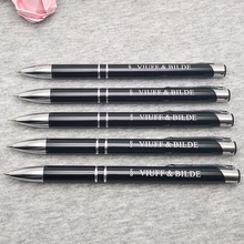 HOT cute wedding gifts Unique metal pen/ wholesale promotional products/ laser engraving pen with free logo/email/web