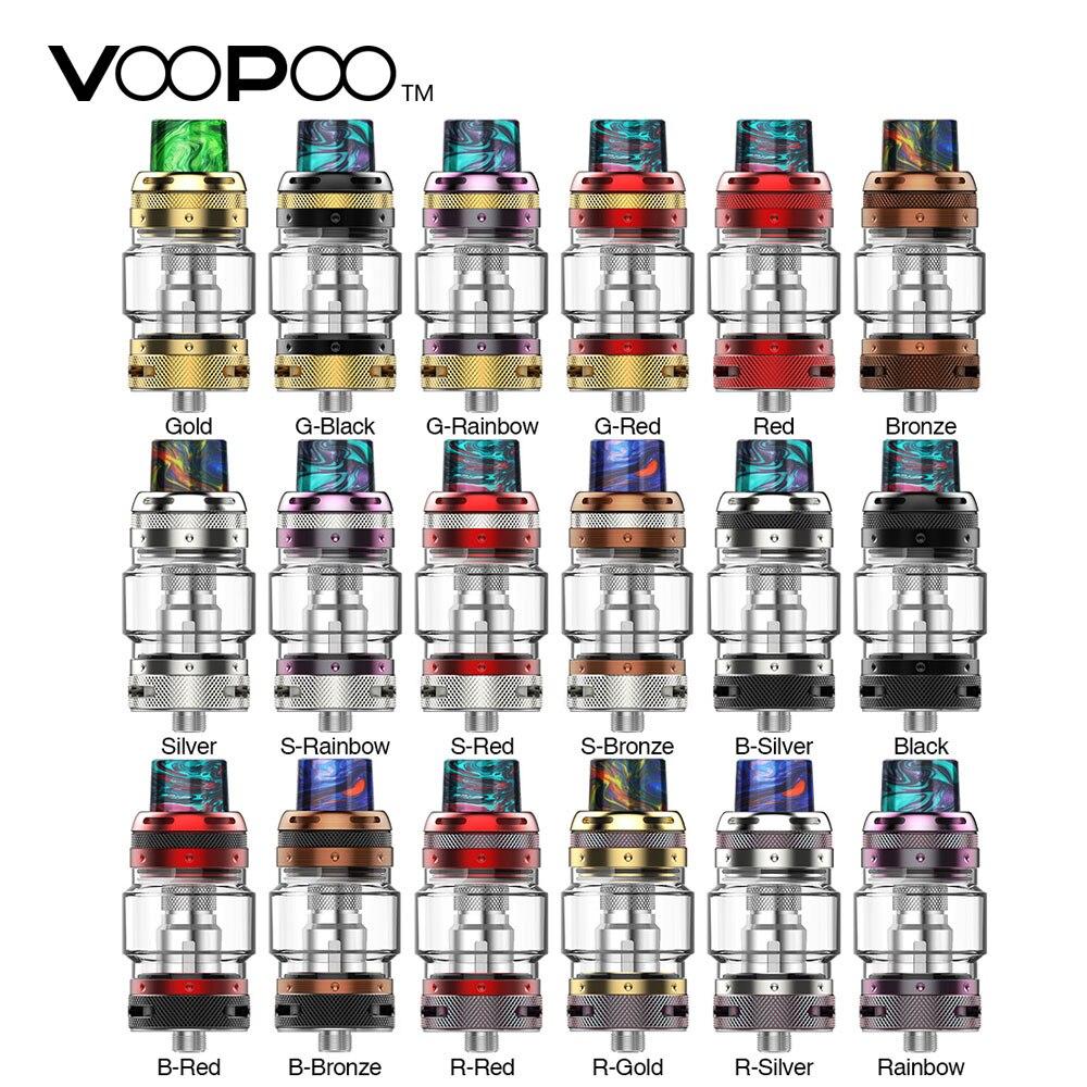 Original VOOPOO UFORCE T1 Tank 3.5ml/8ml Atomizer 24.6mm Diameter Easy Top Refill & New Mesh N1 Coil E-cigarette Vape Atomizer 100% original voopoo uforce t1 subohm tank 3 5ml 8ml with all new n1 0 13ohm mesh coil