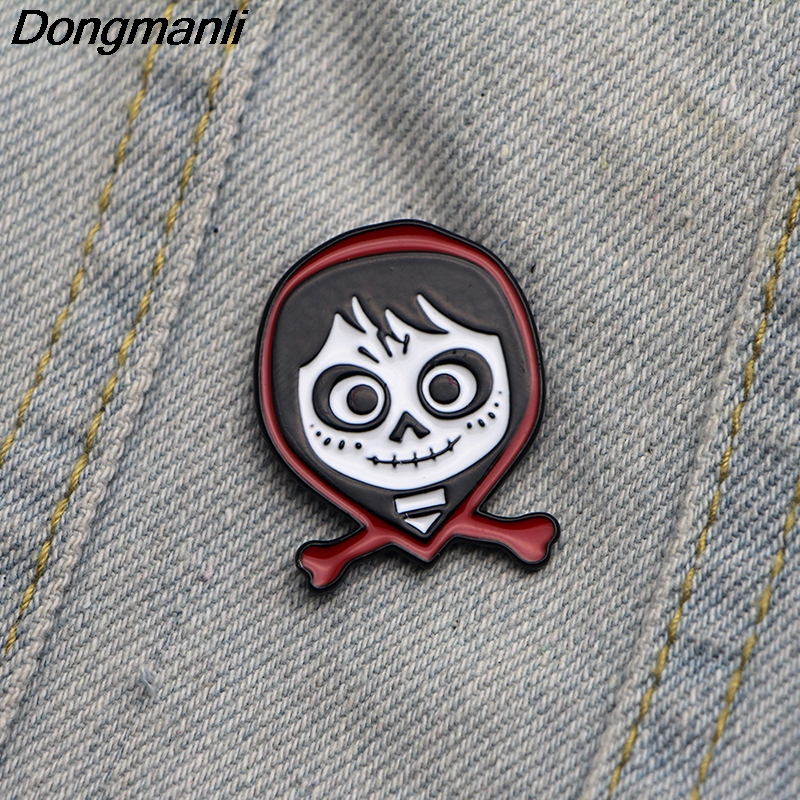 48117bfa1 L2390 jewelry Coco kids Pin Enamel Lapel pin brooches bag Cute Badge  Christmas baby gifts