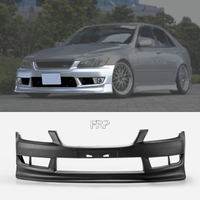 FRP Front Bumper For Lexus IS200 RS200 SXE10 98 05 Altezza VTX Style Glass Fiber Front Bumper Body Kit Tuning Trim IS200 Racing