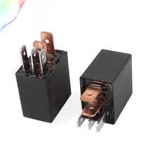 1pcs DC 12V 24V 40A Rated Current 1NO 1NC SPDT 4/5 Pins Car Automotive Alarm Relay(China)