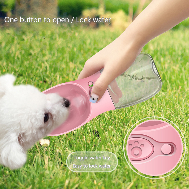 350ml Portable Pet Dog Water Bottle Travel Dog Bowl Cups: Aliexpress.com : Buy 350ML Outdoor Portable Pet Dog Water