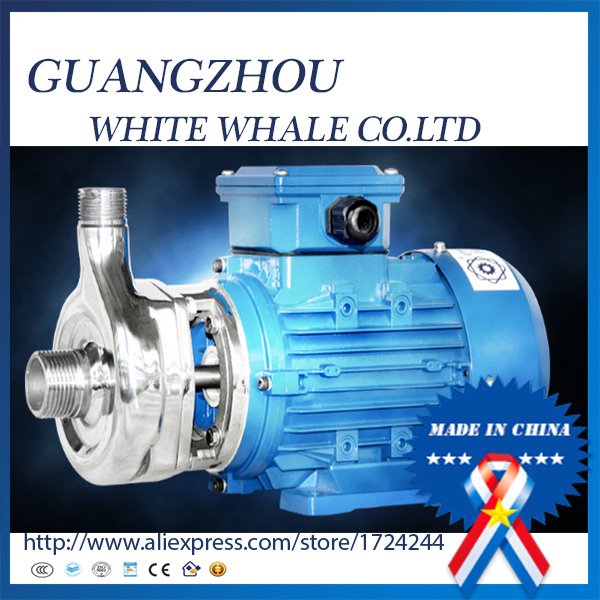 25WB3-8 Acid and alkali corrosion-resistant stainless steel pump chemical horizontal centrifugal pump 16cq 8 corrosion resistant pump horizontal stainless steel chemical transfer magnetic drive pump