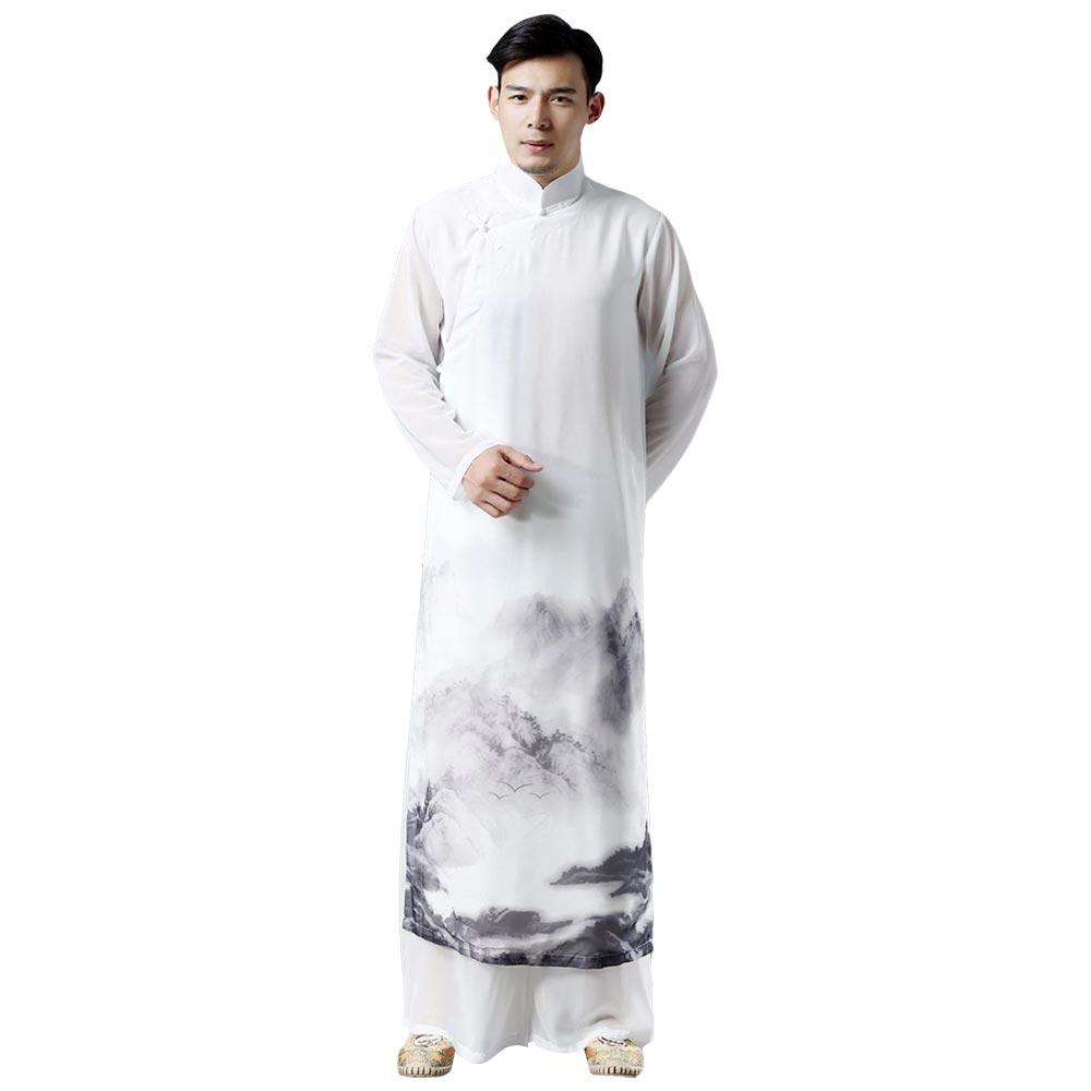 Chinois traditionnel Qi Gong Arts martiaux aile Chun Shaolin Kung Fu formation vêtements vêtements pour hommes Seniors débutants