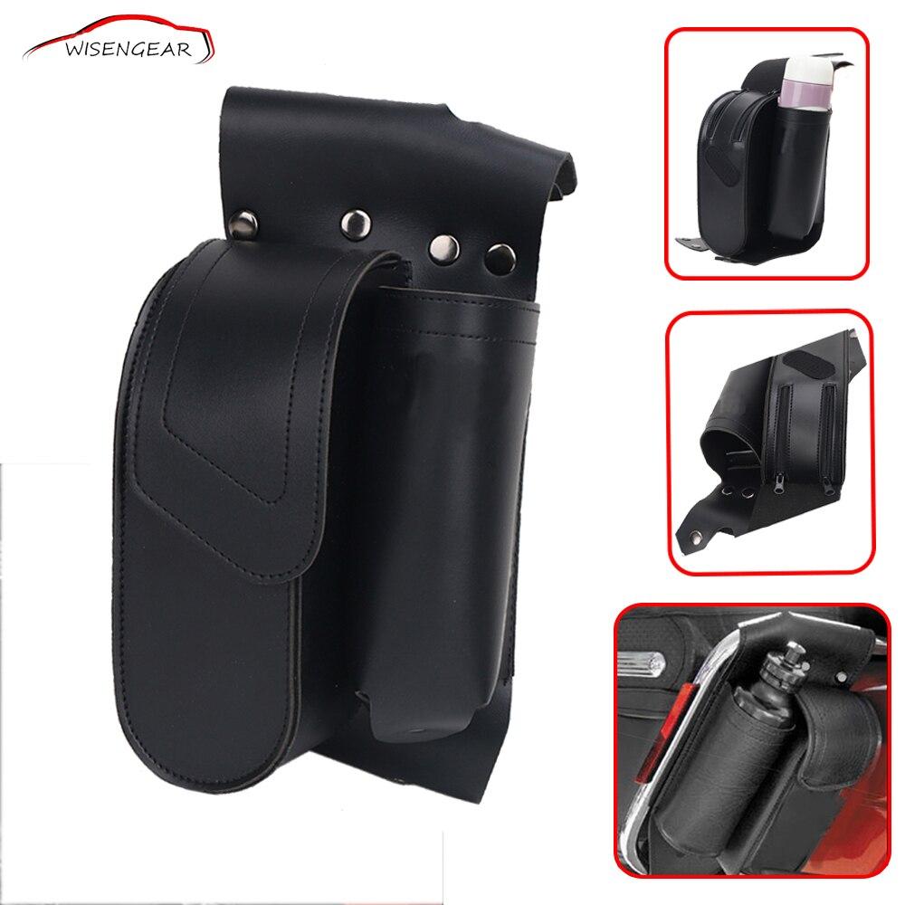 Motorcycle Tool Bag >> Motorcycle Side Bags Saddlebag Guard Bicycle Leather ...