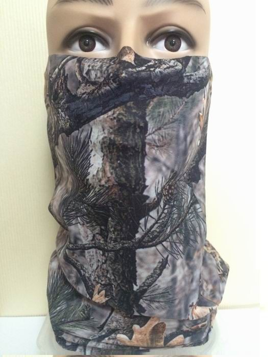 Multifunctional Hunting Fishing Camouflage Headwear Bandana Tube neck Headscarf  (1)