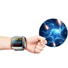 Soft laser therapy watch,rhinitis, blood pressure and diabetes treatment device.