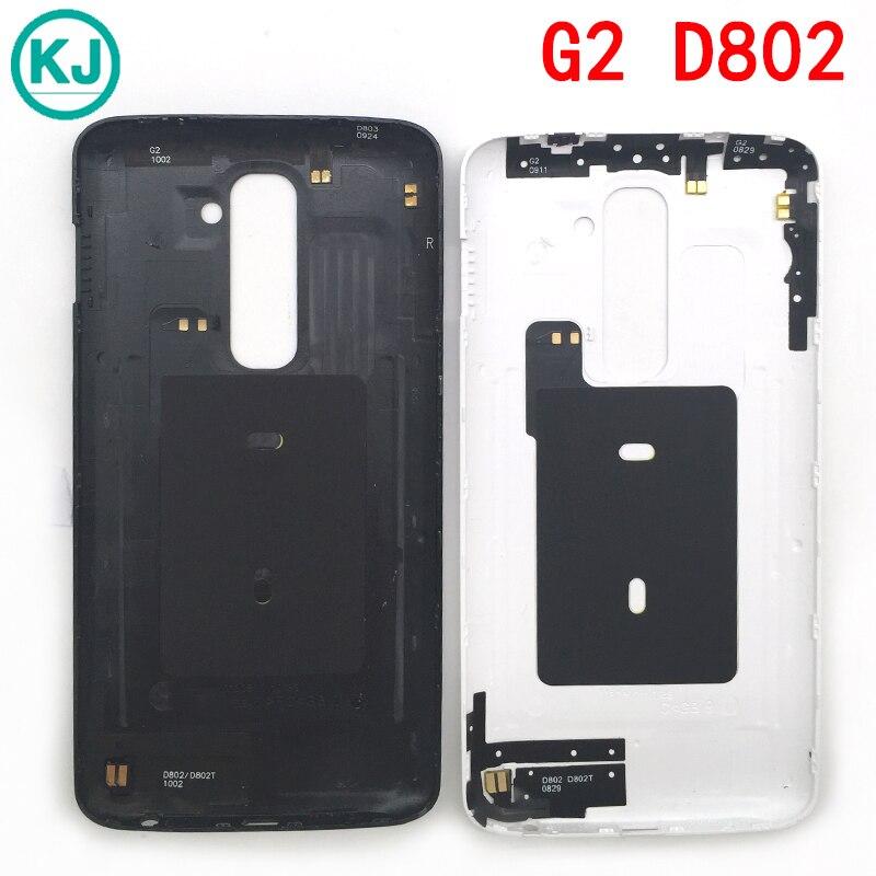 Rear D802 Batter Back Cover Housing For LG G2 D802 Back Door <font><b>Battery</b></font> Case