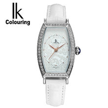Ik for ladies's quartz diamond woman watch watch glass