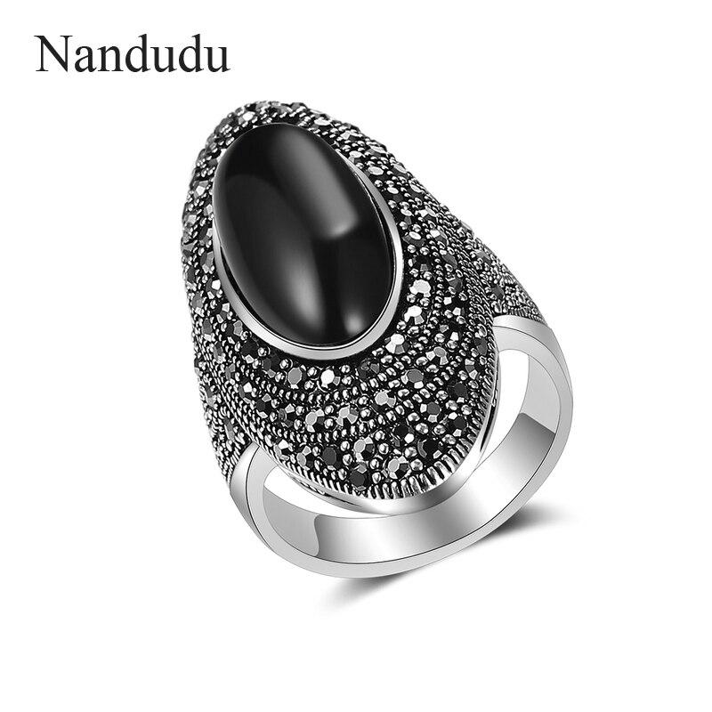 58936454f347 BOEYCJR etnológico Vintage de perlas de agua dulce de cuentas de piedra de  pendientes de joyería. Nandudu Vintage 925 anillo de marcasita de plata con  ...