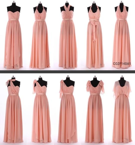 New Arrival Chiffon Spring Bridesmaid Dress One Dress ...