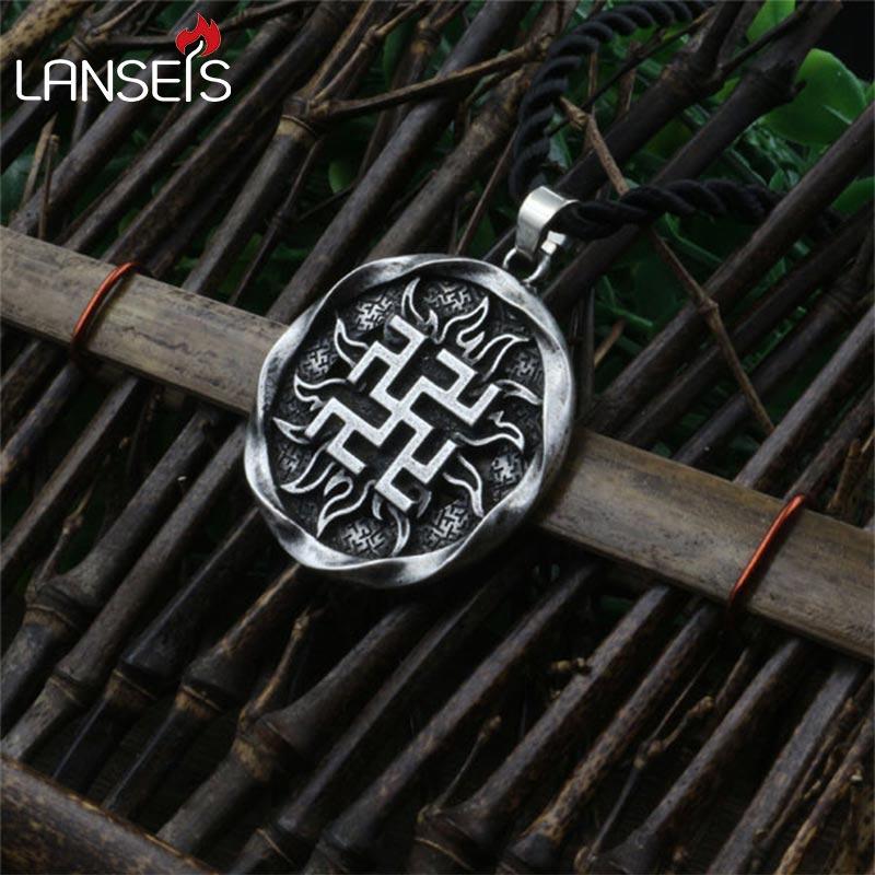 10pcs Fern Flower Pendant Ancient Slavic Amulet Symbol ...