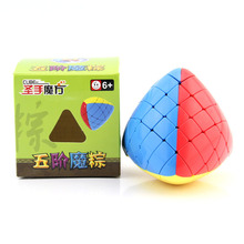Drop Shipping Neo Cube 5x5x5 Rice Dumpling Cube Speed For Magico Cubes Antistress Puzzle Cubo Mágico Colors Toys For Children new arrival of shengshou mastermorphix 5x5x5 cube rice dumpling stickerless magic cube speed puzzle cube toys