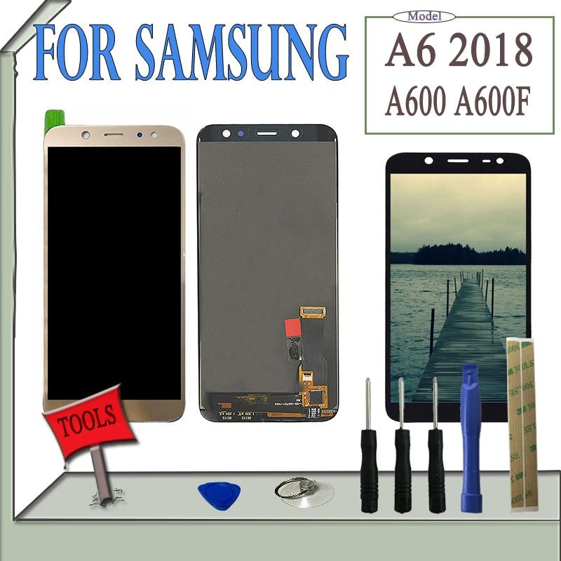 Beste Koop SZHAIYU 5 6 Helderheid LCD Voor Samsung Galaxy A6