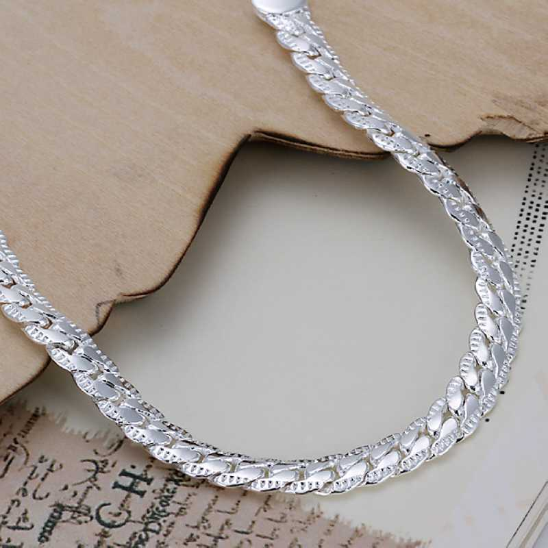 Kiteal silver/Gold color bracelet fashion jewelry 5MM 20cm snake ...