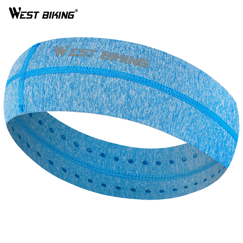 WEST BIKING Bicycle Cycling   Headwear   Breathable Women Men Elastic Sweatband Sports Fitness Hair Band Anti-Slip Cycling Headbands