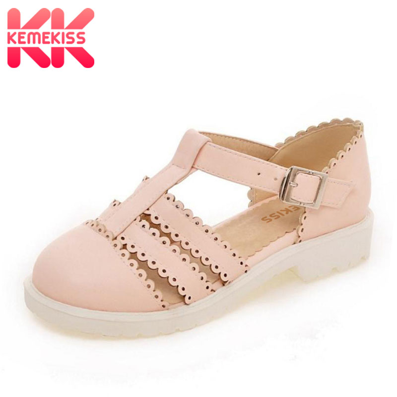 Women Flats Sandals Brand Sexy Fashion Gladiator Ladies Buckle Student Vintage Sandal Footwear Leisure Shoes Size 34-43 PA00722 ladies leisure casual flats shoes low heels lady loafers sexy spring women brand footwear shoes size 34 39 p16171