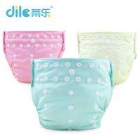 Baby Reusable Nappy Bamboo Breathable Infant Training Pants Waterproof Diapers Washable Baby Learning Pants 0 24months