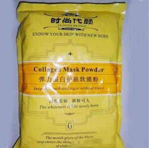 1000 г коллагеновая мягкая маска для ухода за кожей порошок 1 кг укрепляющая увлажняющая Антивозрастная продукция для лица Бесплатная достав...