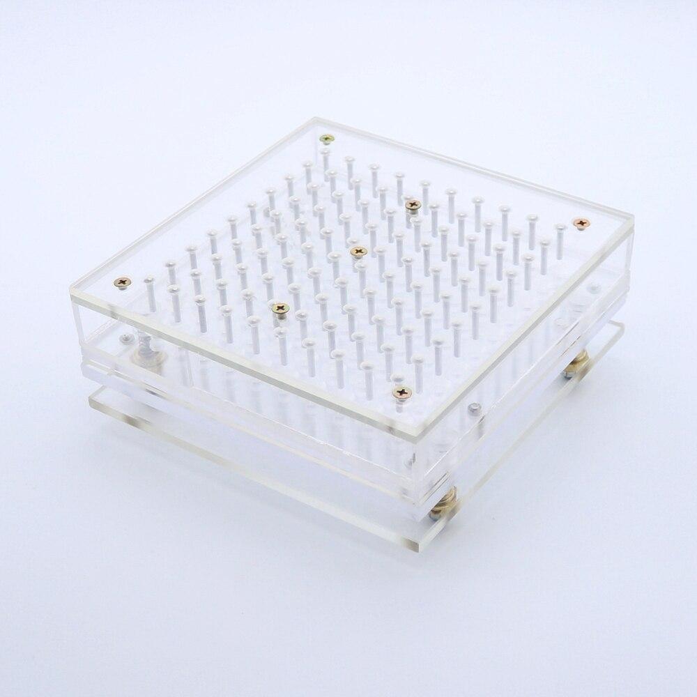 100 Holes Manual Capsule Filling Machine Pharmaceutical Capsule Maker Filler for DIY Herbal Capsule Acrylic 00