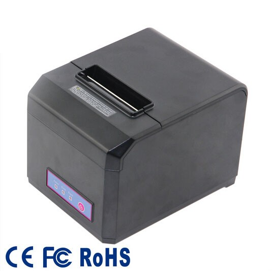 ФОТО 80mm Waterproof thermal receipt printer support Windows7 and Linux system