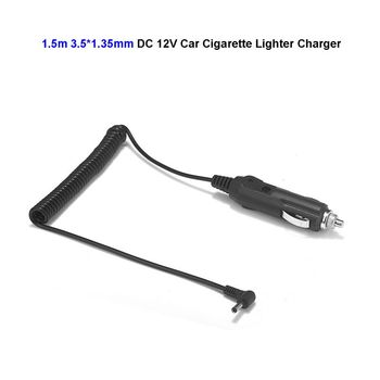 12V 24V DC 3.5mm x 1.35mm Car Auto Cigarette Lighter Power Supply Adapter Angle Plug For Battery Charger LED Strip Light image