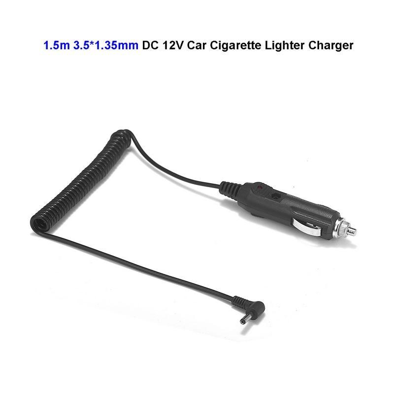 12V 24V DC 3.5mm x 1.35mm Car Auto Cigarette Lighter Power Supply Adapter Angle Plug For Battery Charger LED Strip Light