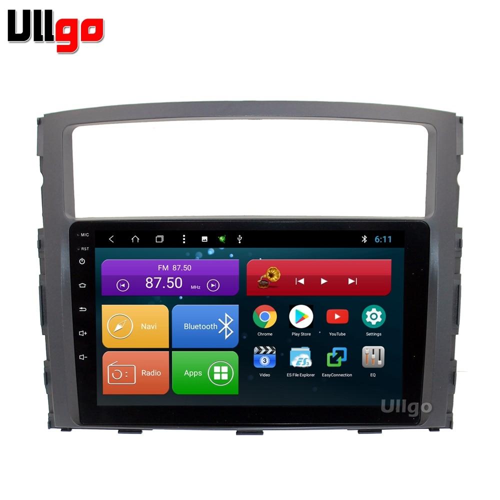 9 pouce Android 8.1 Unité De Tête de Voiture pour Mitsubishi Pajero V93 V97 Autoradio GPS Centrale Multimédia avec BT RDS Radio miroir-lien