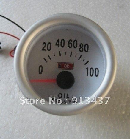 """2""""/52mm Oil Pressure Gauge Blue LED (PSI) LED7704"""