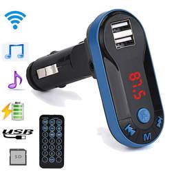 Автомобильный Стайлинг хит продаж Bluetooth беспроводной fm-передатчик MP3-плеер громкой связи автомобильный комплект USB TF SD удаленные