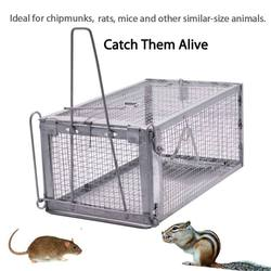 Reutilizável rato armadilha resistente rato pragas animais ratos hamster gaiola controle isca roedor repelente pegar rato vivo hamster armadilha