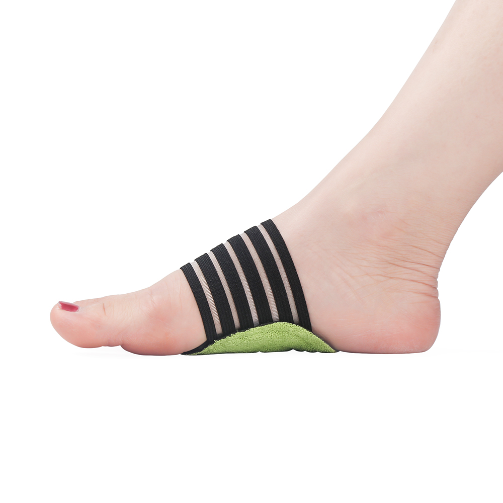 1 Pair Foot Cushioned Arch Foot Support Decrease Plantar Fasciitis Pain Correction Night Foot Care Corrector Thumb Goodnight