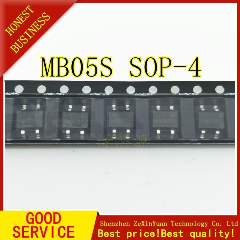 20PCS MB05S SMD NEW Rectifier Bridge