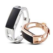 Bluetooth Remote Умные браслеты браслет D8 полный стали синхронизации телефон LED Умные часы с вибрировать может ответить на телефон для часов