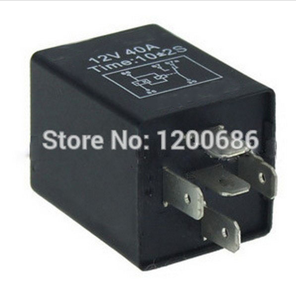 Automotive 12v 5 Pin Time Delay Relay Spdt 10 Second On Delay Relay 3 Second Delay On Relay