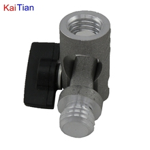 Kaitian 5 8 Inch Angle Adjustment Bracket with Extension Rod for tripod and Laser Levels with