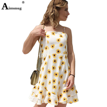 Sexy Dress Casual Women Summer Bow Knot Tie Beach Dresses Striped Floral Sundress Elegant Short Dress Vestidos knot front striped dress