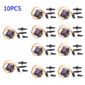 10pcs MG90S Micro Metal Gear Motor for RC Plane Helicopter Boat Car 4.8V-6V