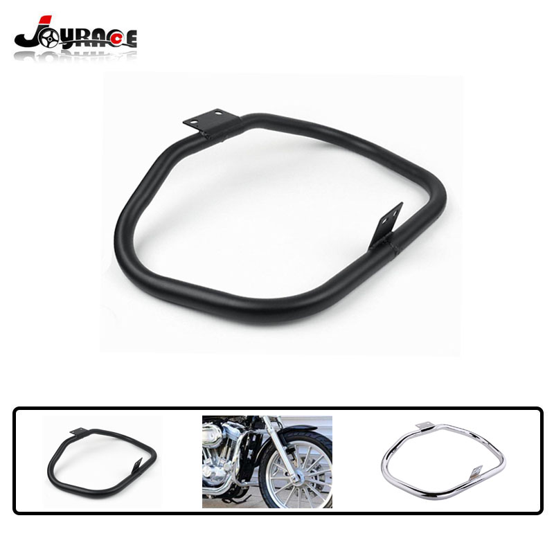Motorcycle Highway Engine Guard Crash Bar Protector for Harley Davidson Sportster Iron XL 883 1200 Superlow 48 72 Custom 04-18 new motorcycle brake clutch lever assembly for harley sportst 883 1200 xl883 xl1200 48 72 iron superlow 2014 2015 2016 2017