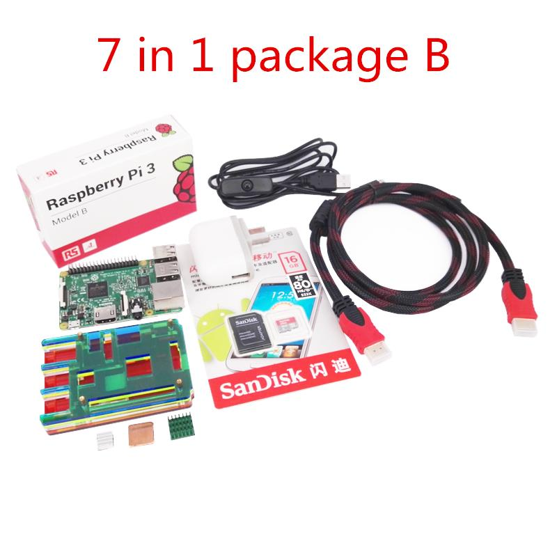 2016 Latest Versoin Original Raspberry Pi 3 Model B Supports WiFi and Bluetooth Element 14 Version high quality uk original raspberry pi 3 model b 100% new and original raspberry pi 3 not raspberry pi zero w