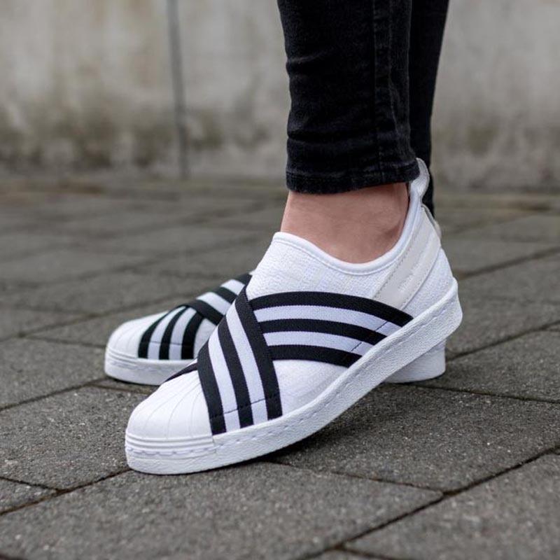 Adidas Originals Mujer Hombre Blanco Sneakers Superstar Mountaineering Superstar Sneakers eaff7d