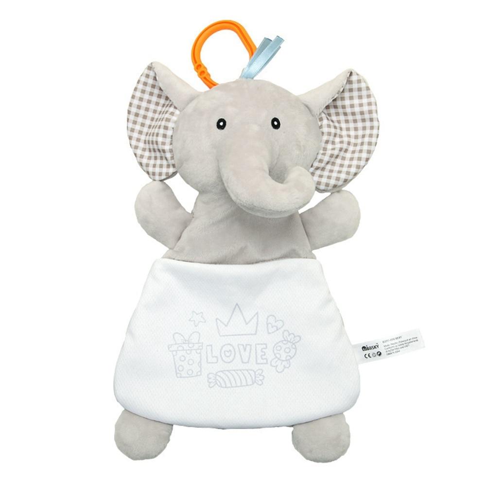 Детские погремушки Fulljion, развивающие игрушки для детей, Прорезыватель для зубов, Колокольчик для малышей, детская коляска, подвесные куклы - Цвет: elephant