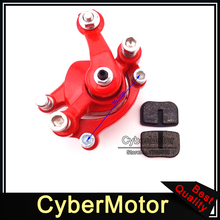 Minimoto Red Rear Disc Brake Caliper Pads Shoes For 2 Stroke Mini Gas
