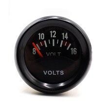 52 мм 2 »Автомобилей Вольтметр 8-16 В Вольт Gauge Meter/Автоматический Измерительный Прибор Инструмент YC100838