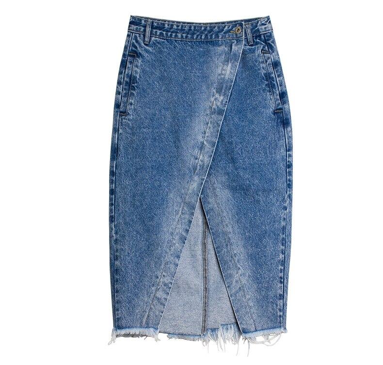 Skirt of female skirt hairline furl furl to wrap hip bull-puncher skirt irregular tassel tall waist skirt of halter MIDI skirt (20)