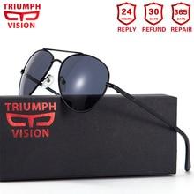 TRIUMPH VISION Bril Mannen Pilot Optische Bril Zonnebril Bijziendheid Oculos Homme Gafas Brillen
