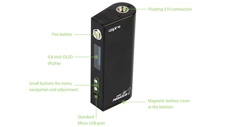 Aspire Odyssey Mini Kit with Triton Mini Tank-display-2