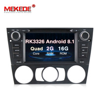 MEKEDE Car multimedia 1din Android 8.1 Quad core CAR GPS For BMW E90 E91 E92 E93 320/328 dvd player with WIFI BT SWC 2+16G